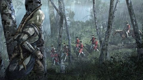 Polowanie na jelenia i... na ludzi. Czy to pierwsze obrazki z Assassin's Creed 3?