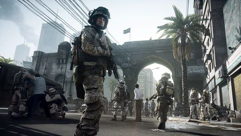 Pierwsze dziesięć minut Battlefield 3. Oglądacie?