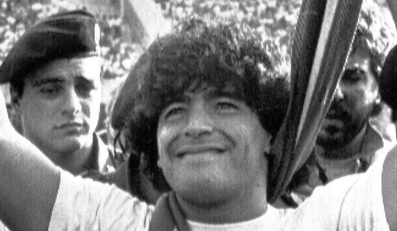 Ujawniono sytuację z Salmą Hayek. Diego Maradona prowadził szalone życie