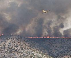 Pożar w Chorwacji. Turyści utknęli na lotnisku