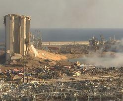 Bejrut. Wybuch zniszczył zapasy. Widmo głodu