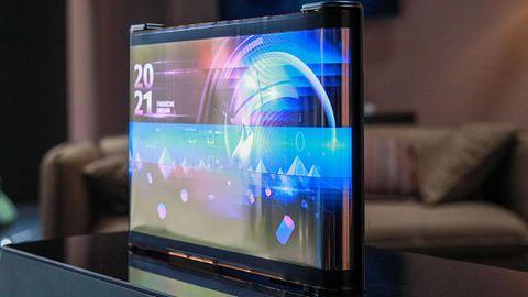 CES 2021: przełomowa wizja ekranów, które składają się niczym kartka