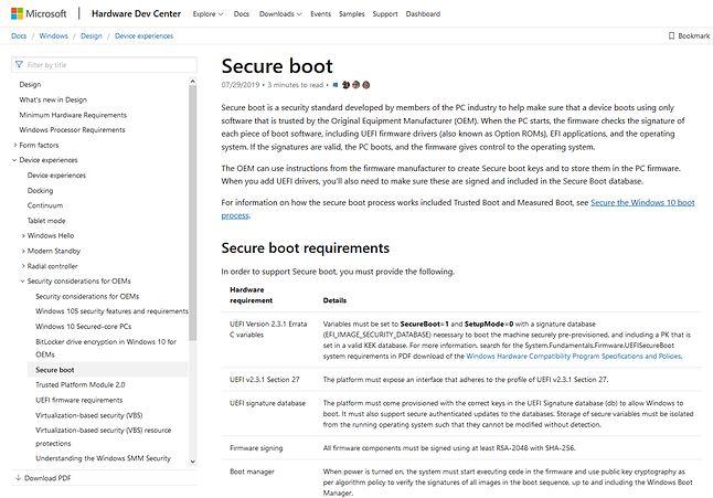 Swoją drogą, strona z dokumentacją Microsoftu ma wbudowane elementy Google Analytics...