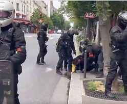 Protesty w całej Francji. Ostre starcia z policją