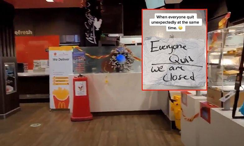 Zemsta pracowników McDonald's. Nagranie widziało już 2,3 mln ludzi