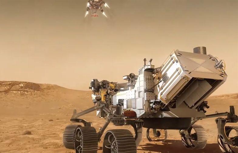 Łazik NASA wyląduje na Marsie. Jest na nim nazwisko Polaka