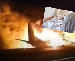 Wyskoczył z samolotu. Tylko on przeżył katastrofę. Opowiedział o horrorze