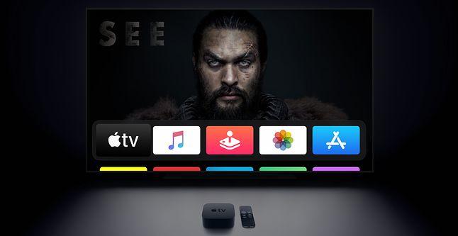 Przystawka, jak i aplikacja Apple TV umożliwia dostęp do serwisu Apple TV+, fot. Apple