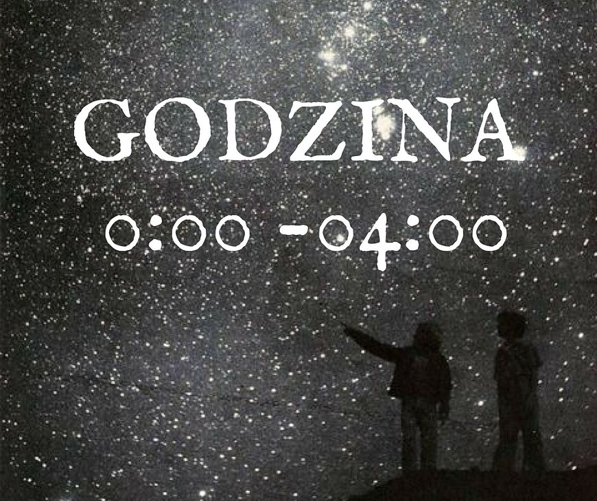 Godzina 0:00 - 4:00, a charakter
