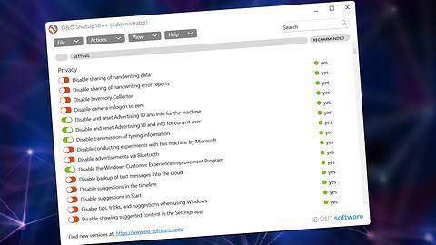 Wyłącz telemetrię w Windows 11. O&OShutUp10++ dostał aktualizację