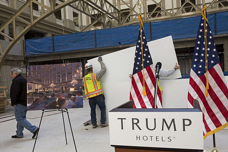 Zwolniona pokojówka pracowała w Hotel Trump International