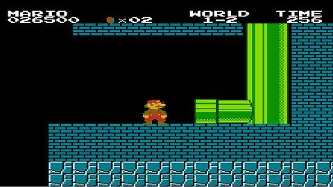 Minusowy świat? - Glitche w Super Mario Bros