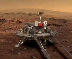 Łazik Zhurong przesłał zdjęcia z Marsa. Co na to NASA?