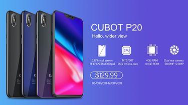 Recenzja Cubot P20 już w sprzedaży — osiem rdzeni, 4GB pamięci RAM, i notch za 480 zł