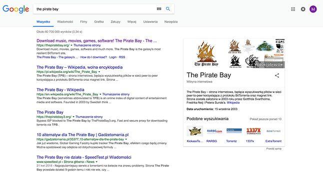 Lata lecą, a Zatoka wciąż świetnie sobie radzi w Google.