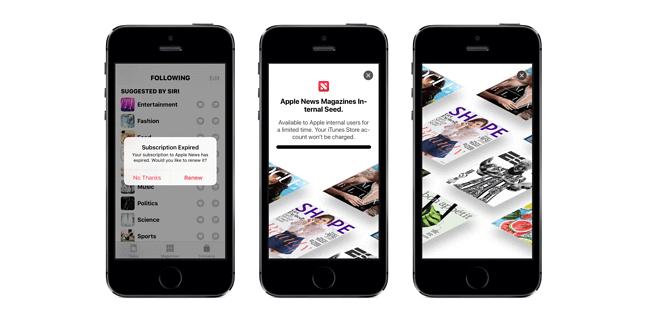 Apple News Magazines. (źródło: 9to5mac.com)
