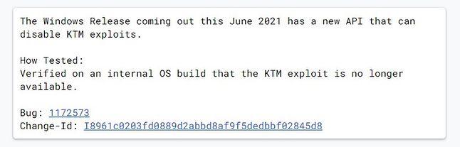 Wpis na Chromium Gerrit przed edycją, fot. Windows Latest.