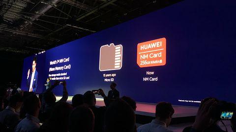 Huawei zastąpi karty pamięci microSD własnym standardem
