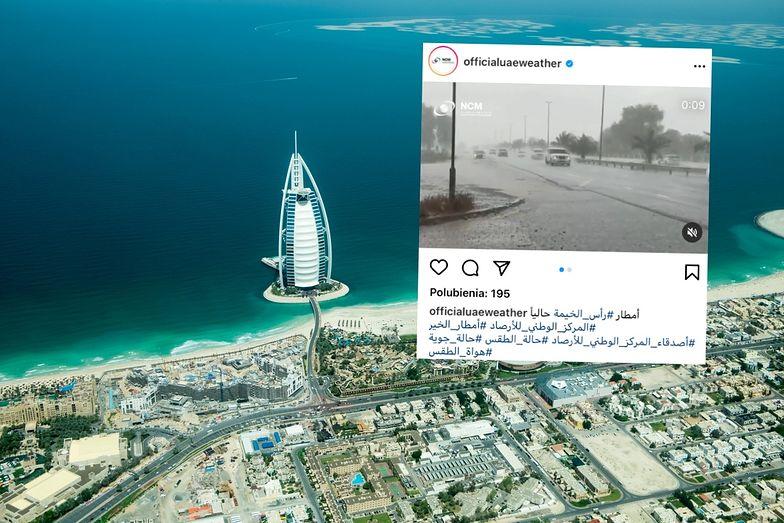 Turyści mogą się zdziwić. Niezwykłe nagrania z Dubaju