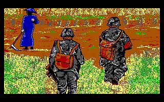 Grafika PC DOS. Tego nie da sięodzobaczyć.... oślepłem...