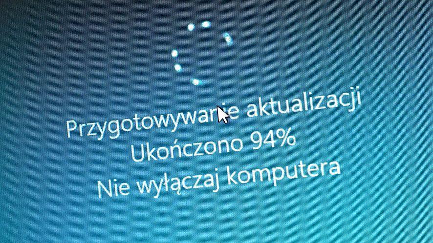 Windows 10 i problem aktualizacji, fot. Oskar Ziomek