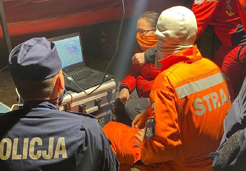 Akcja policji w Gdyni. W poszukiwaniach brało udział 100 osób
