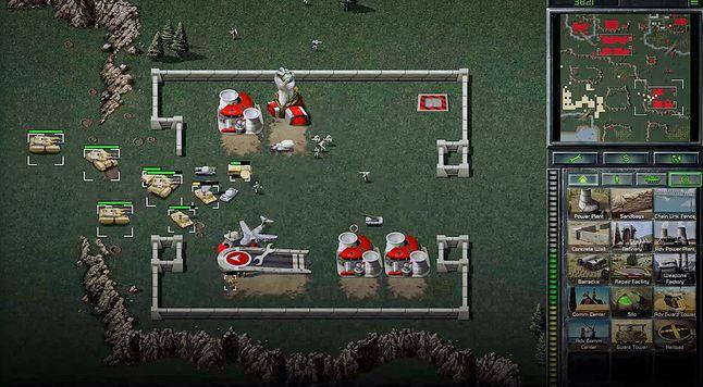 Rozgrywka z odświeżonego Command and Conquer, fot. EA