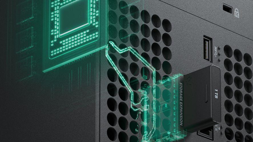 Microsoft będzie sprzedawał rozszerzenia SSD do Xbox Series X, fot. Microsoft