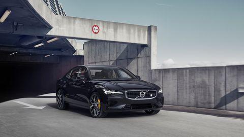 Piękne i szybkie nowe Volvo S60 T8 Polestar tylko dla właścicieli iPhone'ów