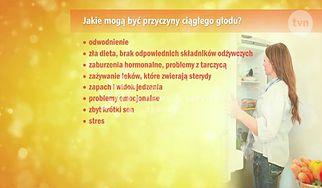 Psychodietetyk wyjaśnia, dlaczego czujemy ciągły głód  (WIDEO)