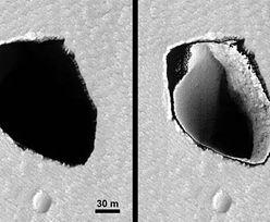 Dziura na Marsie ma kształt Polski