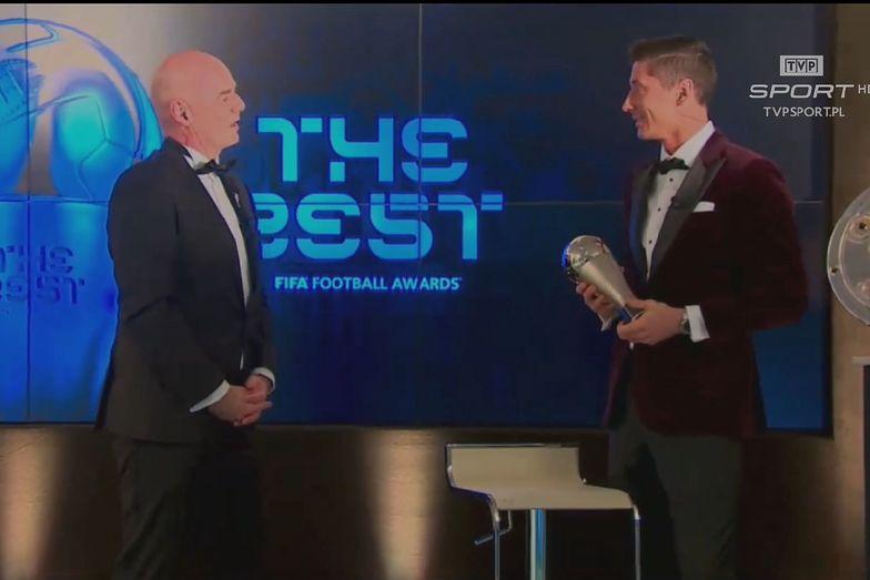 Historyczna chwila! Robert Lewandowski Piłkarzem Roku FIFA The Best!