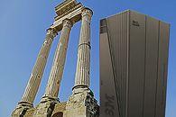 Praca z mainframe – kroniki Gala Anonima - Leciwy zabytek, stojący tuż obok jakichś starożytnych kolumn.