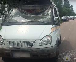 Ukraina. Napad na furgon pocztowy. Przestępcy uciekli z pieniędzmi