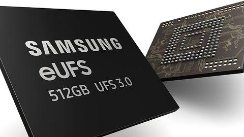 Samsung rozpoczyna produkcję pamięci eUFS 3.0 – na początek o pojemności 128 i 512 GB
