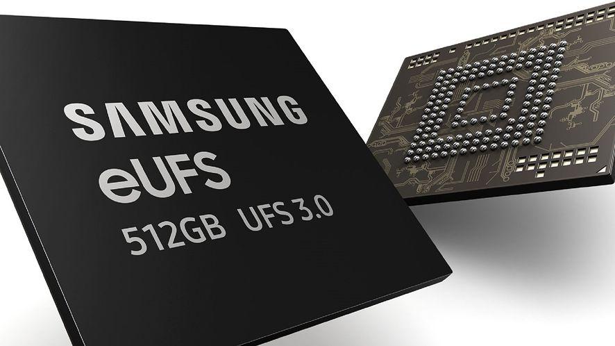 Samsung rozpoczyna produkcję szybkich pamięci eUFS 3.0, fot. materiały prasowe