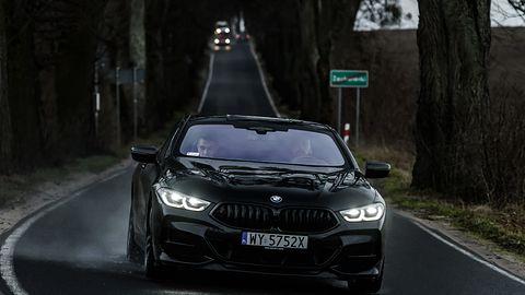 Jeździłem nowym BMW serii 8 i BMW X5. Momentami czułem się jak bohater filmu sci-fi