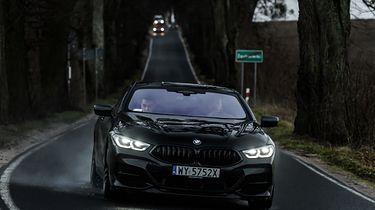 Jeździłem nowym BMW serii 8 i BMW X5. Momentami czułem się jak bohater filmu sci-fi - fot. BMW Tech Club