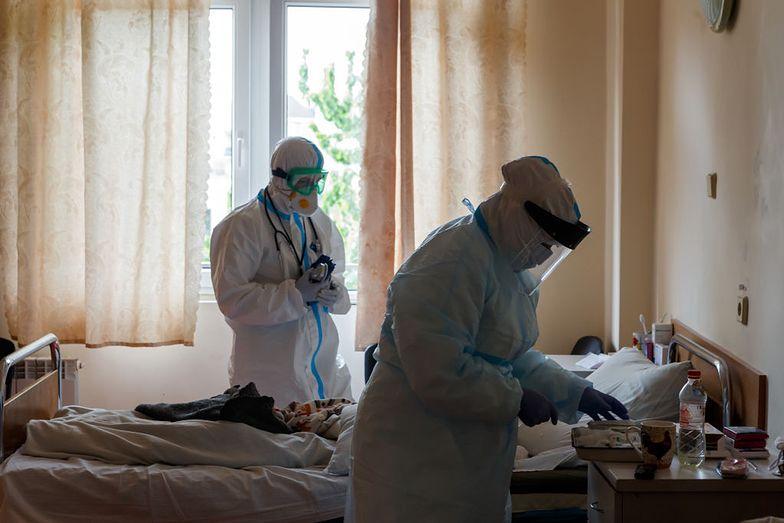 Smutny dzień na Ukrainie. Tak źle nie było od początku pandemii
