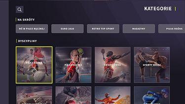Aplikacja TVP Sport dostępna w Smart TV Samsunga. Inne telewizory też ją mają - Aplikacja TVP Sport na telewizory Samsung