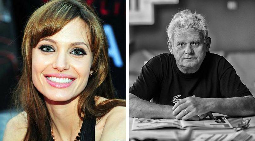 Angelina Jolie i Kazik Staszewski