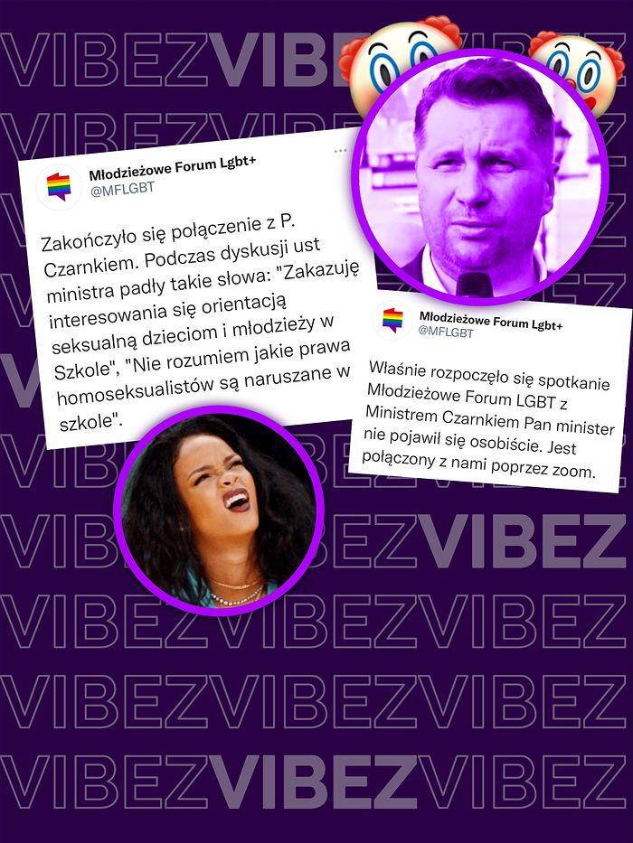 Minister Czarnek spotkał się z aktywistami. Skończyło się standardowo