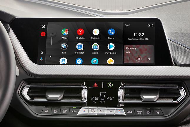 Android Auto w samochodzie BMW, źródło: materiały prasowe.