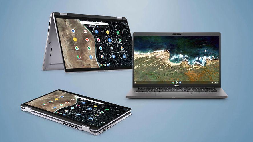 Chromebooki otrzymują wsparcie Windowsa, fot. Dell