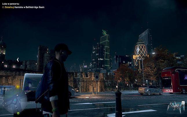 Brakuje The Tulip w panoramie Londynu, czyżby twórcy nie wierzyli w ten projekt? - Watch Dogs: Legion