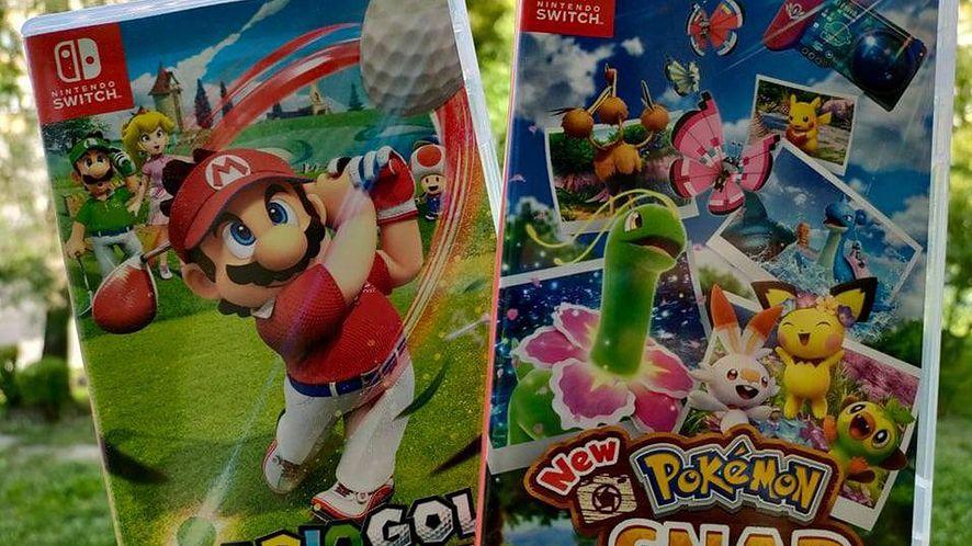 Mario Golf Super Rush i New Pokemon Snap
