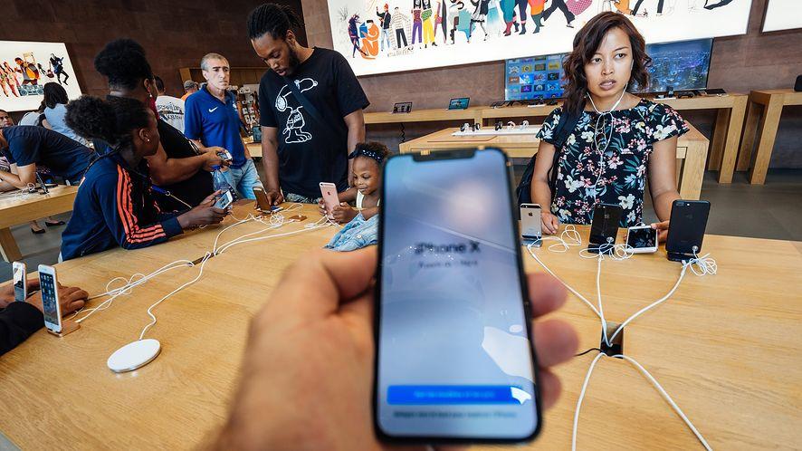 Dostawcy Apple odnotowali duże spadki przychodów. (depositphotos)