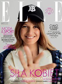"""Anna Lewandowska na okładce """"Elle"""". """"Siła Kobiet"""" czy """"Siła Kasy""""?"""