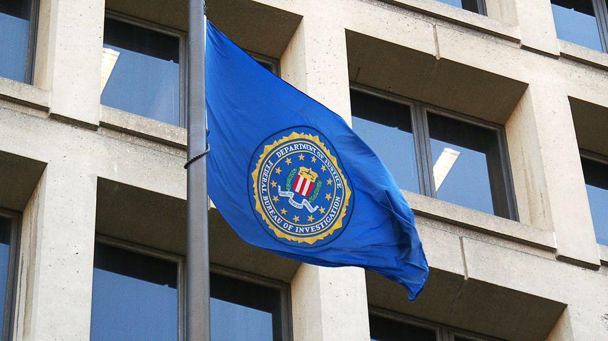 FBI podszywa się pod FedEx by ująć przestępców, Flaga FBI, depositphotos