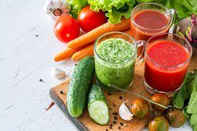 Zdrowe soki warzywne. Sok z buraków, marchwi, pomidorów i nie tylko